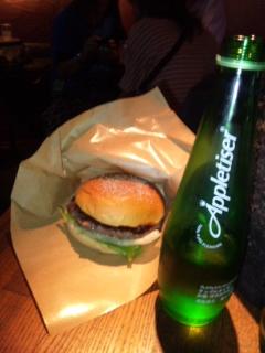 D-fat ハンバーガー